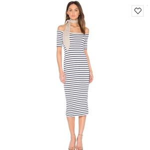 Rachel Pally Jagger Dress in Juniper Stripe